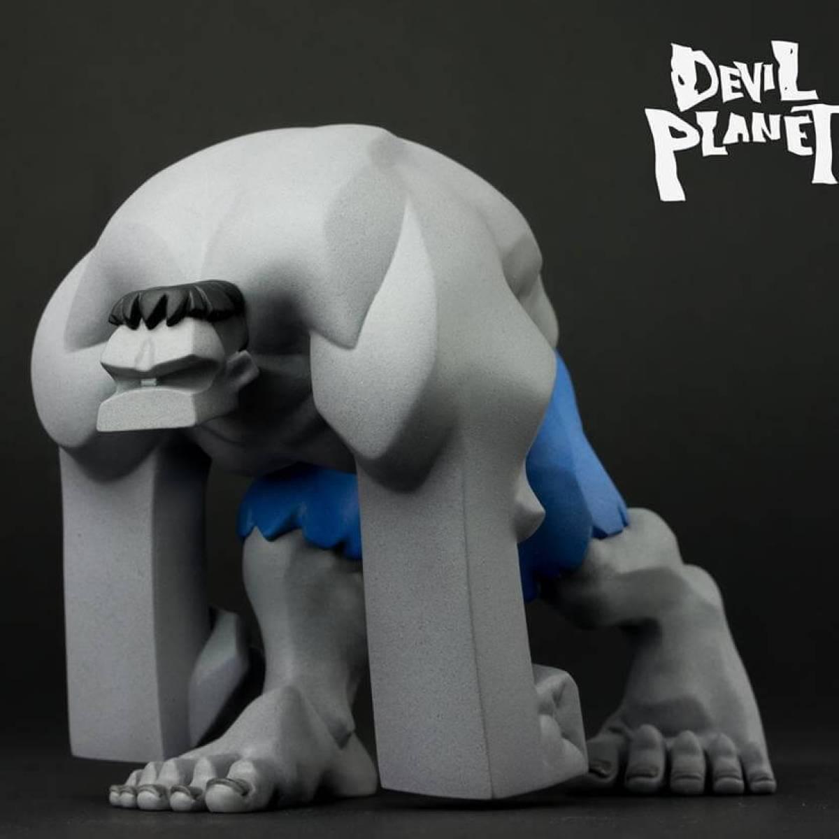 Mr Gray DEVIL PLANET HULK By Kang Goon x TJ Cha side