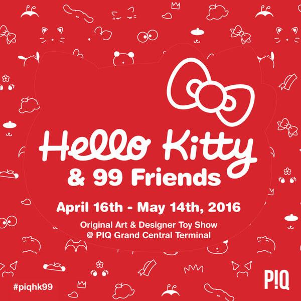 HELLO KITTY 99 FRIENDS
