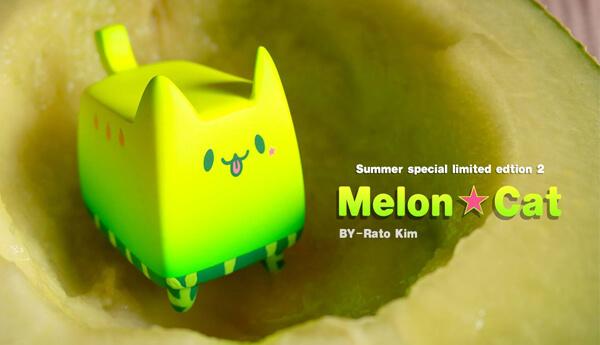 Boxcat-Melon-Cat-Summer-Series-By-Rato-Kim-