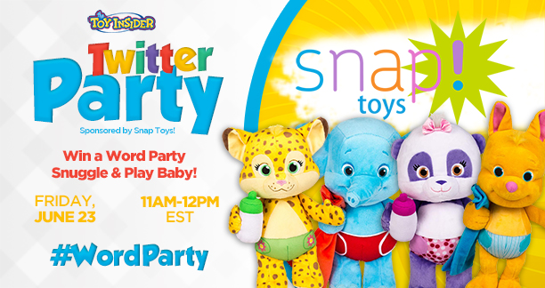 WordParty Twitter Party June 23 - The Toy Insider