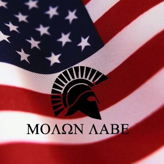 The Meaning Behind Molon Labe, a Favored Gun Rights Slogan of Oregon - american flag background for word document