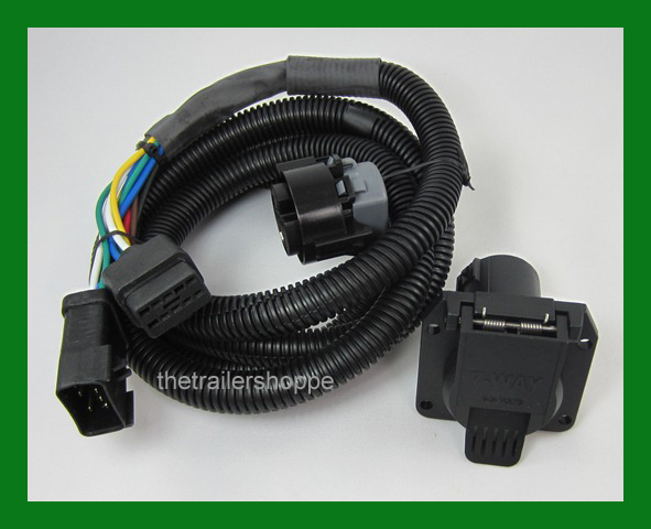 Wiring Harness 5th Wheel OEM Extension 7 Way RV Plug Gooseneck Dodge