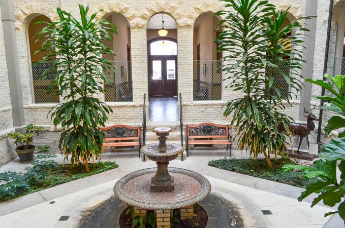 Fayette County Courthouse Atrium, La Grange Texas