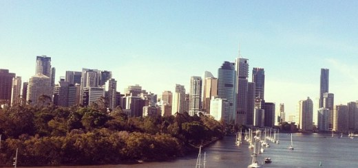 Backpacking in Brisbane