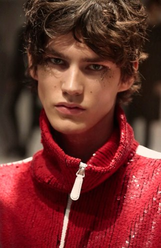 Backstage at the Burberry Menswear January 2016 Show (1)
