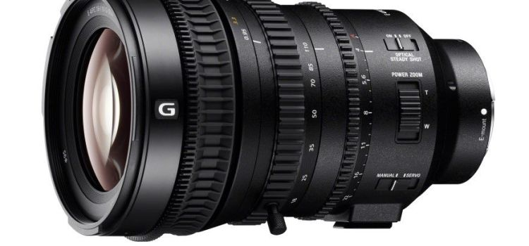 Gadget Trends: Sony lansează obiectivul power zoom de 18-110mm Super 35mm/APS-C