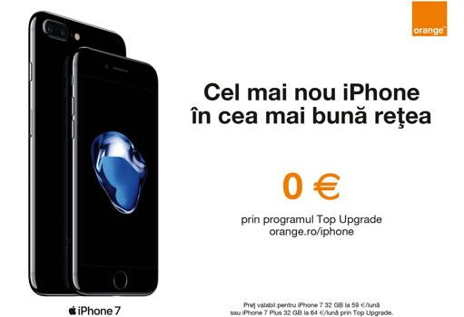 Cum îți poți lua iPhone 7 gratis de la Orange