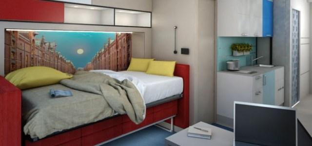 Häfele poate face ca micro-apartamentele să devină realitate prin soluţii de proiect 360°
