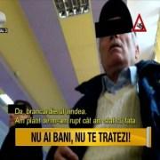 "Tara in care boala vine la pachet cu disperarea si umilinta –""Asta-i Romania!"""