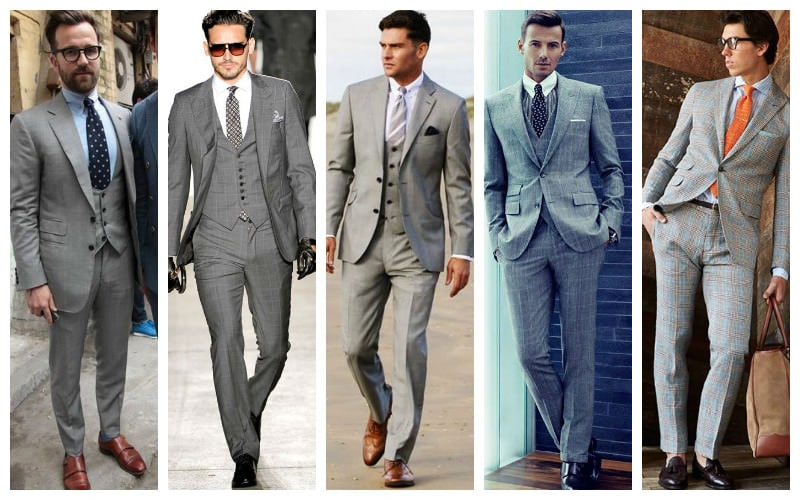 How To Wear A Grey Suit The Trend Spotter