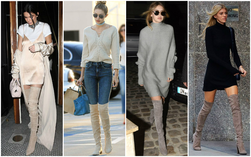How To Wear Over The Knee Boots The Trend Spotter