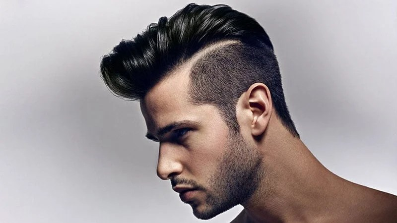 30 Awesome Hard Part Haircuts for Men - The Trend Spotter