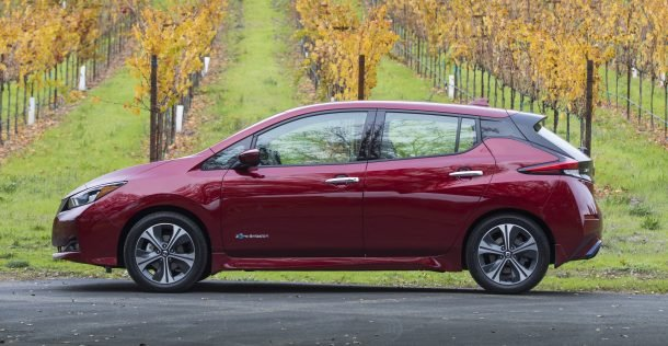 2018 Nissan Leaf Sl First Drive Powering Back From