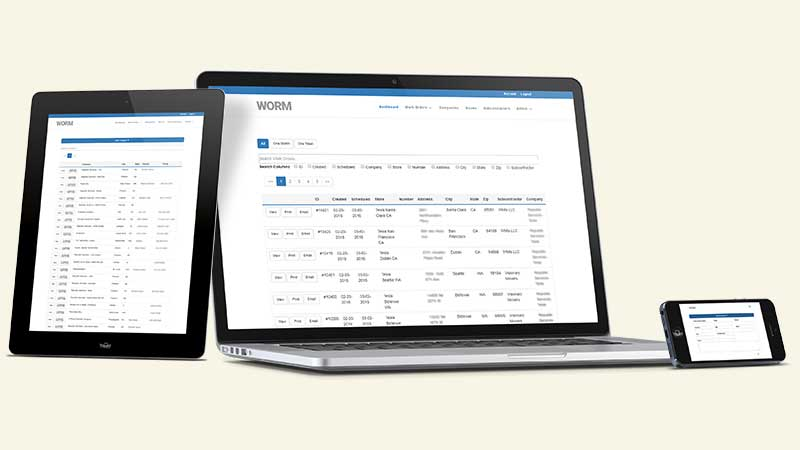 Work Order Request Management Software - The Turning Gear Project