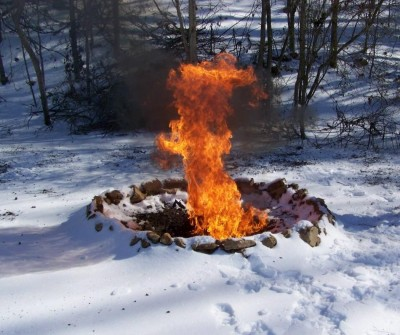 Fire on the Snow: