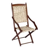 Edwardian Folding Campaign Chair - The Unique Seat Company