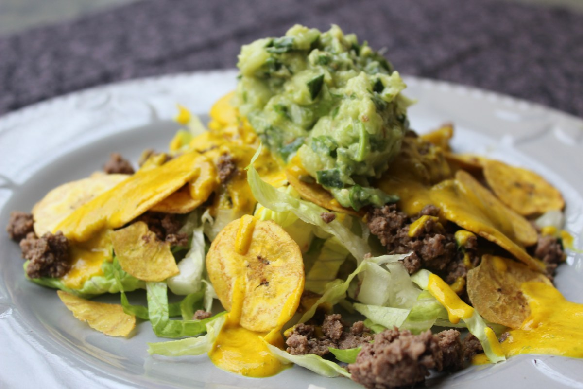 Beefy Cheesy Nachos – AIP, Paleo, Whole 30
