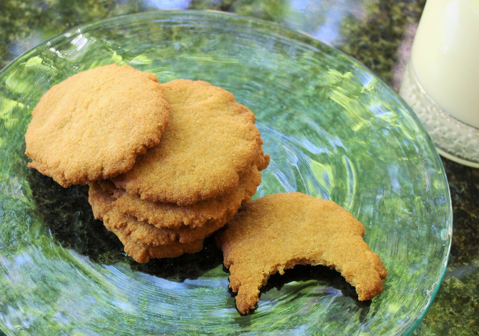 Crispy Chewy Honey Cookies – AIP, Paleo