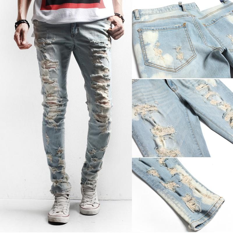 diy how to make your ripped jeans at home easily mens