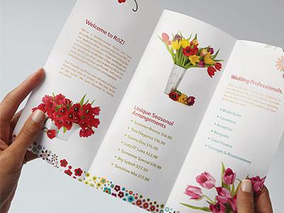 Brochure Printing Custom Brochures The UPS Store - make pamphlet online