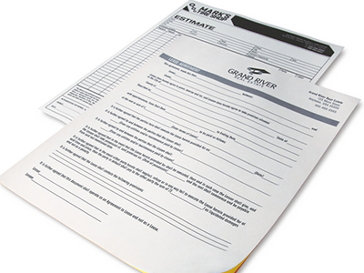 Custom Printed Forms Business Forms The UPS Store