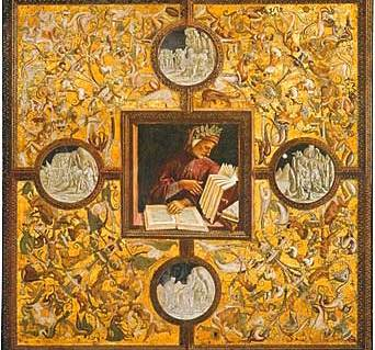 """lo gran disio dell' eccellenza"" (the great desire of excelling) (Painting by Luca Signorelli)"