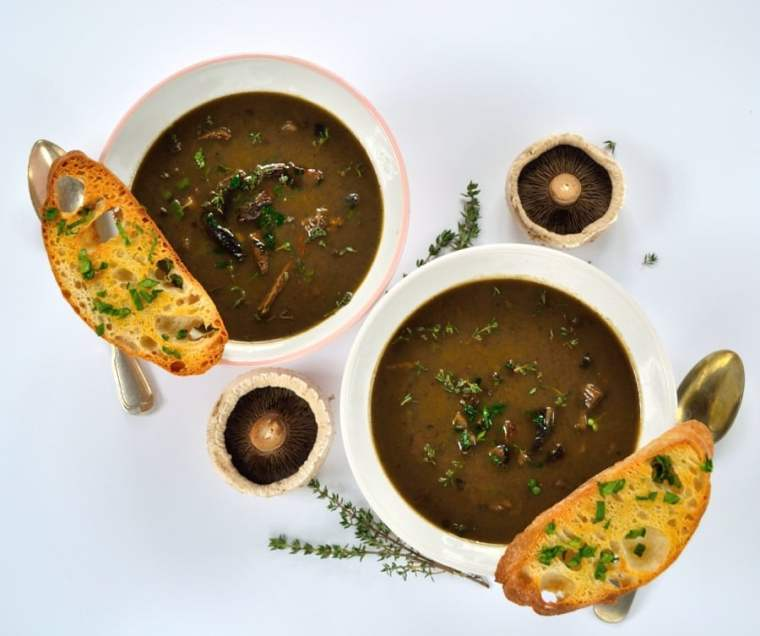 Porcini & Sherry Soup