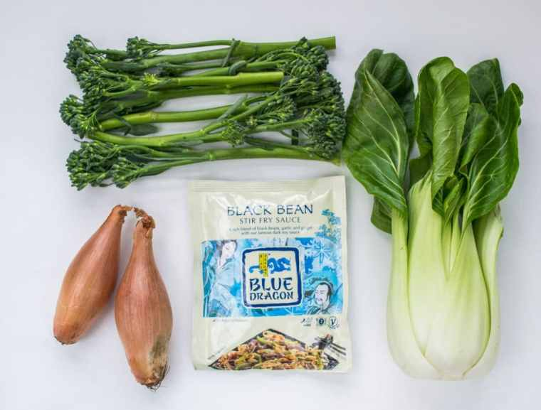 Black Bean Tenderstem - Ingredients