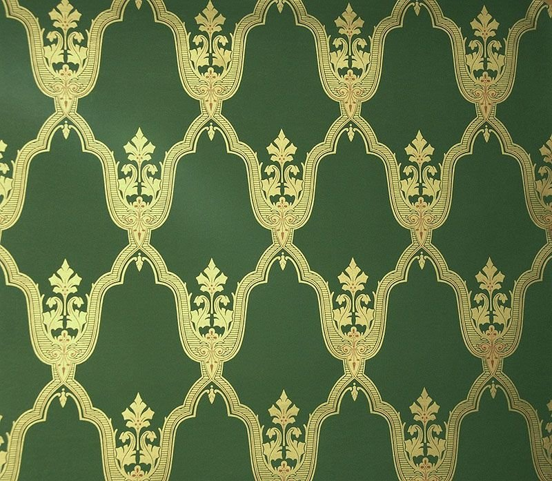 Black And Cream Damask Wallpaper Melias Wallpaper Green Historical Wallpapers Collection