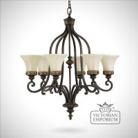 Walnut chandelier with up lights | Interior ceiling and ...
