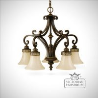 Walnut chandelier with down lights | Interior ceiling and ...