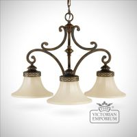 3 shade chandelier | Interior ceiling and hanging lights