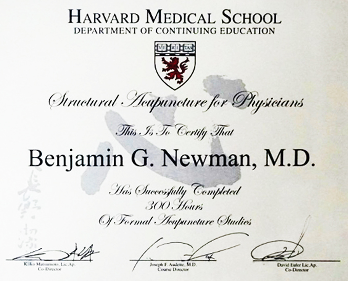 About Benjamin G Newman, MD - The Village Doctor - Winter Harbor, Maine