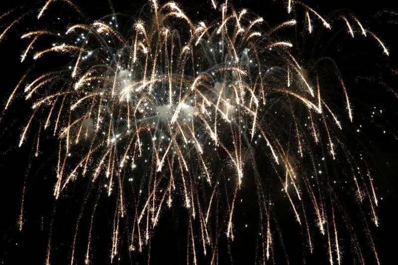 Fayette Bull Thistle Festival Fireworks At Harrison Lake