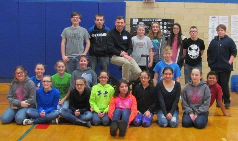 Stryker Elementary Students Learn About Renewable Energy Sources