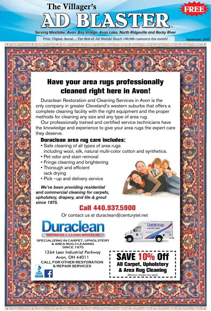 Villager\u0027s Ad Blaster Duraclean Restoration  Cleaning Services