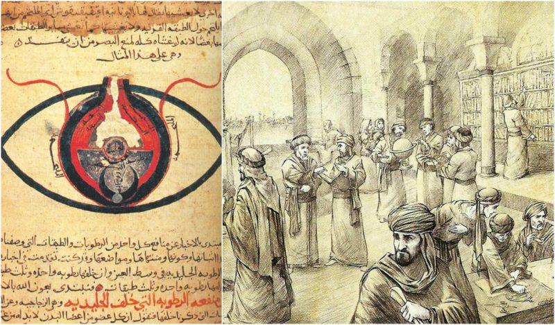 The House of Wisdom contained so many books that the Tigris River