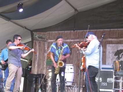 Mitch Reed, Charles Neville, Michael Doucet- Beausoleil