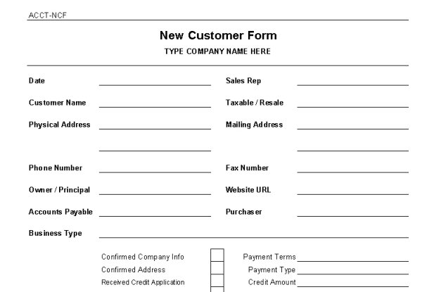 Vendor Information Request Form Template  Mortgage Policies and