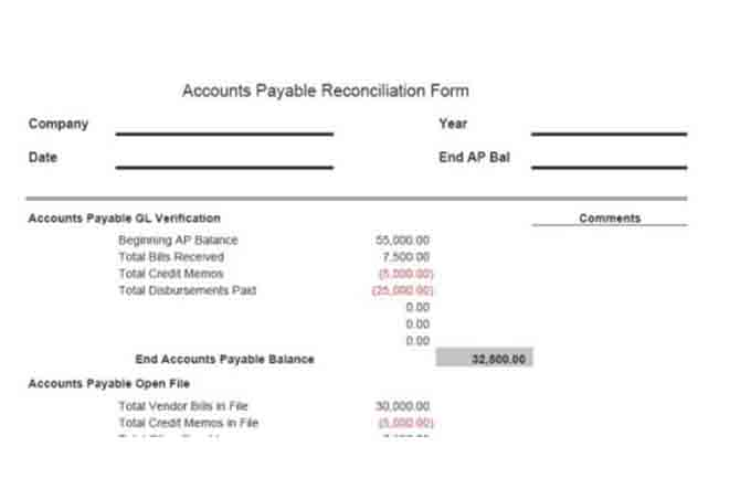 Bank account reconciliation template - visualbrainsinfo - bank account reconciliation template