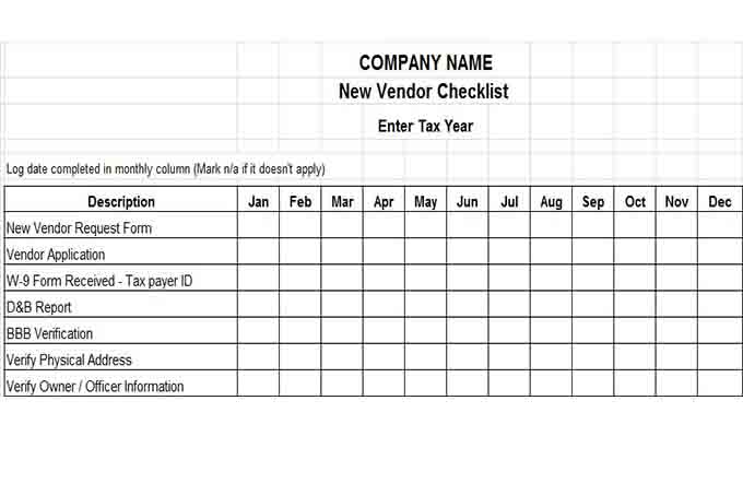 business contact list template – Company Contact List Template
