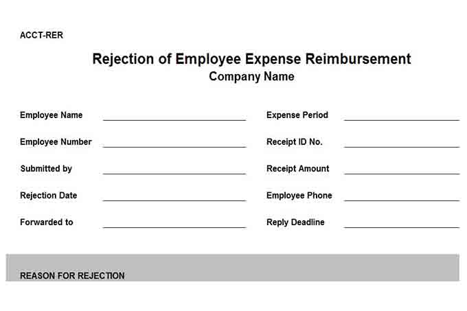 Reimbursement Request Form  NodeResumeTemplatePaasproviderCom