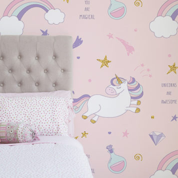 Baby Girl Wallpaper Borders Pink And Purple Cool Kids Wall Stickers By The Wall Sticker Company