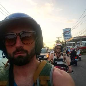 Riding Scooters in Thailand