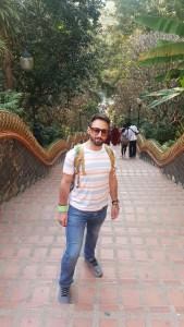 Top of the Naga stairway