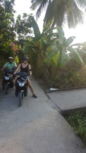 Exploring the beautiful Mekong Delta at your leisure during my first motorbike trip!