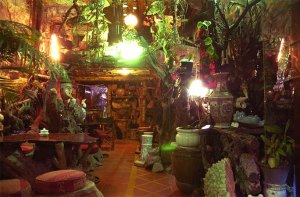 Just one room in the 100 Roofs Cafe Dalat. Trippy, no? Enjoy running around with a beer in your hand!