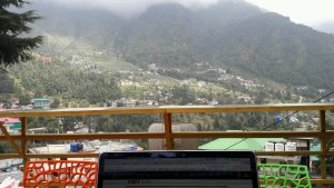 Morgan's Place still a great view and most reliable wifi in Dharamsala! It's where I wrote this post from