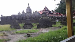 The Shitthaung Temple in Mrauk U. One of the clear remnants of its old, powerful kingdom.