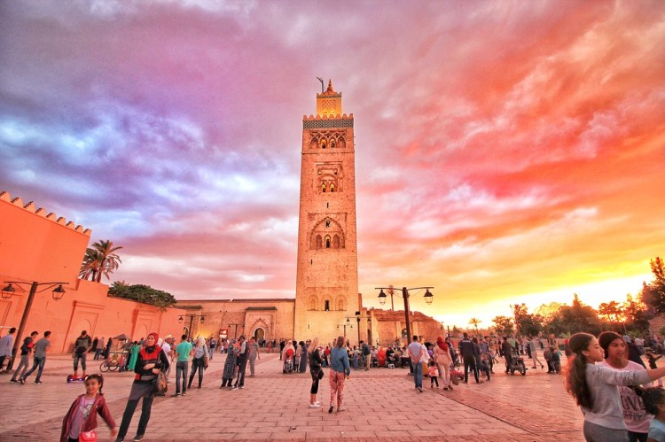 Koutoubia Mosque - The Wanderlust Bug